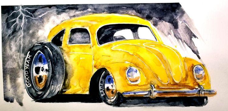 Slammed VW BUG bug 750