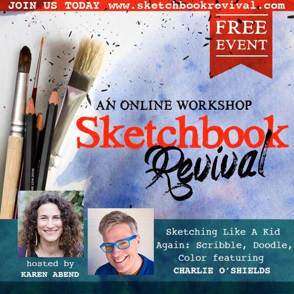 Sketchbook Revival 2019 Charlie O'Shields