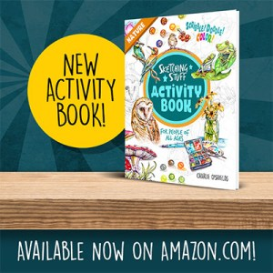 Sketching Stuff Activity Book Nature Promo Square3