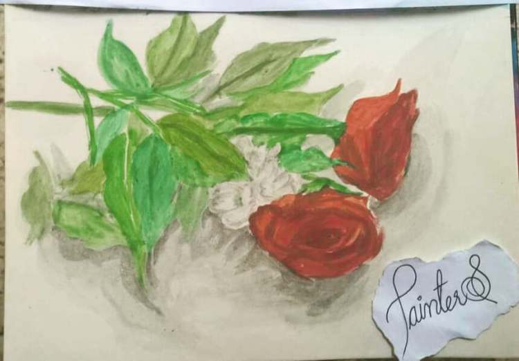 #PainterS #nonstopcreative March : 29 Topic : Simple Things 2 simple flowers <3 . #doodlewash #do