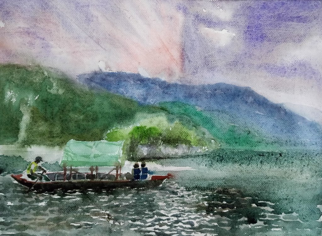 All my travel watercolor painting _20190527_103559_20190527_103527_20190527_103754_20190527_103832