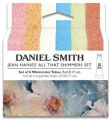 Jean Haines All That Shimmers Set Daniel Smith Watercolor
