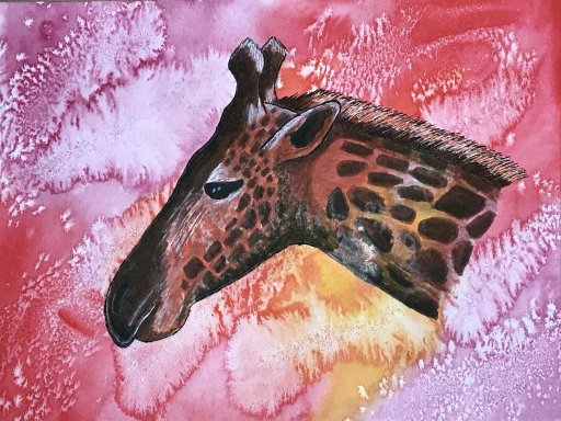 Joys Art 360 Painted EgretJoys Art 360 Painted Flamingo on Watercolor BackgroundJoys Art 360 Painted