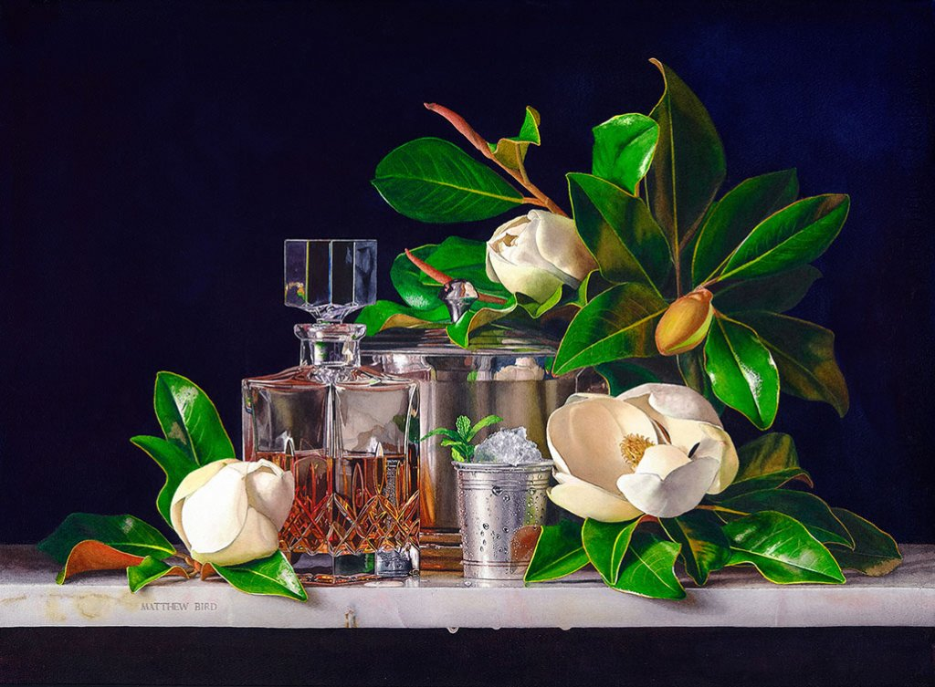 Flowers Watercolor Painting - Hyperrealism - by Matthew Bird - Doodlewash