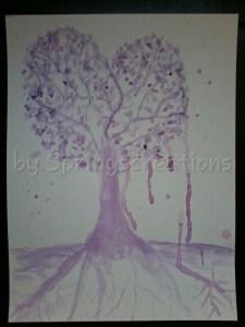 Day 27 prompt purple heart. PSX_20190527_101744