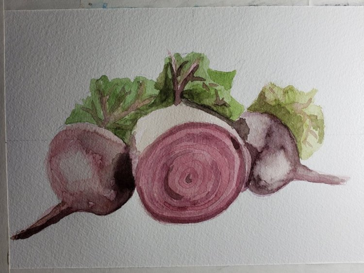 Beet red for the other day. 20190602_161142