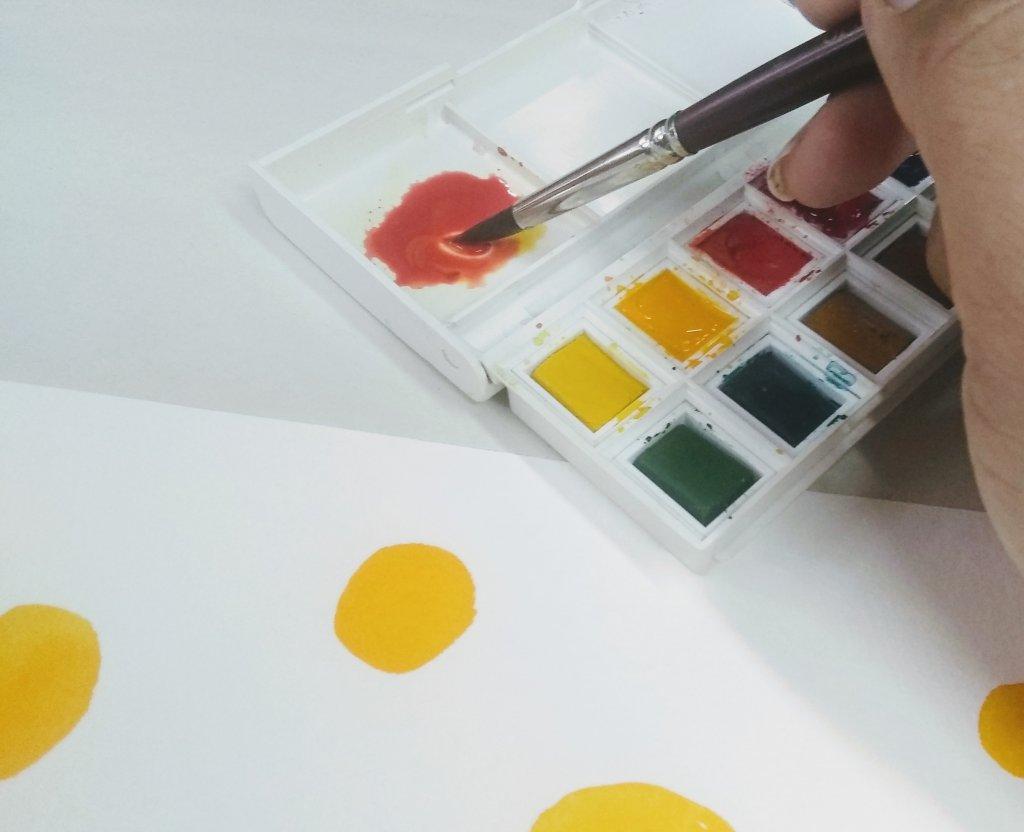 Van Gogh Watercolors In Paint Box