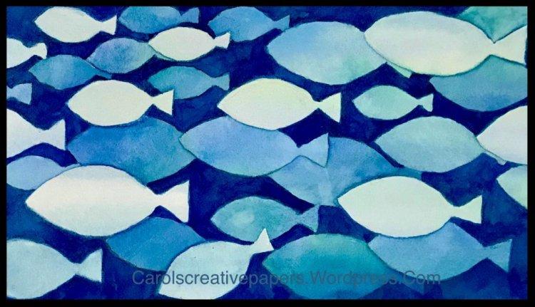 Monochromatic, #worldwatercolormonth2019 02795B59-D96E-44CA-95D5-71AE948618AB
