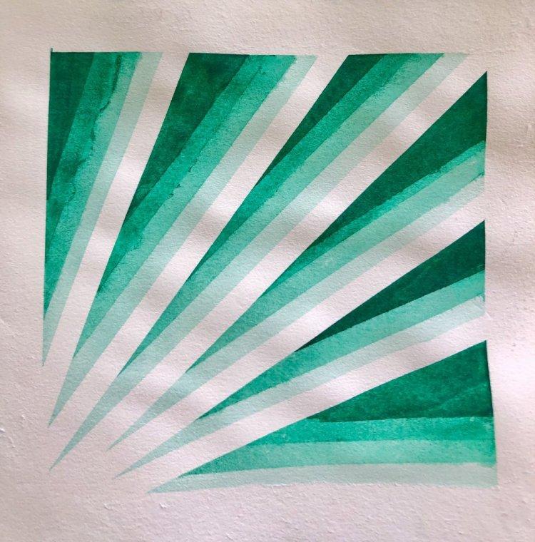 #WorldWatercolorMonth Day 15: Monochromatic 6C8310EB-2CC6-4290-AFFA-8269AB884901