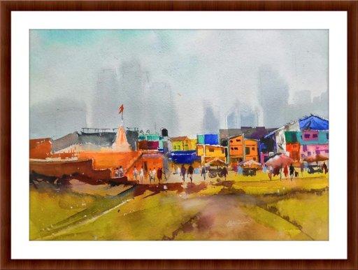 Watercolor on handmade paper FB_IMG_1563351285889FB_IMG_1563351285889