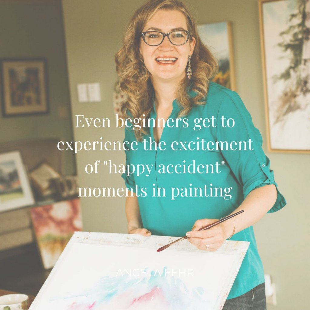Angela Fehr Quote Happy Accident Moments