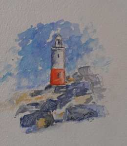 Lighthouse…. my little doddle for today. 69667495_2185468451563002_2145147069826859008_n