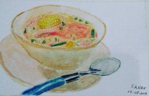 Desafío dia 17 de agosto 2019 @doodlewashed Dia 17:#food #comidatradicionalecuatoriana – – –
