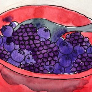 Berry Breakfast! W19 8 3 NOST SUMMER BERRIES-8646 SQ