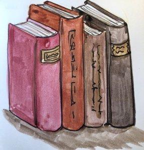 #doodlewashSeptember2019 #everydaythings Day 24: Books 15D87179-3C6E-4D7A-9A21-16C9C112837E
