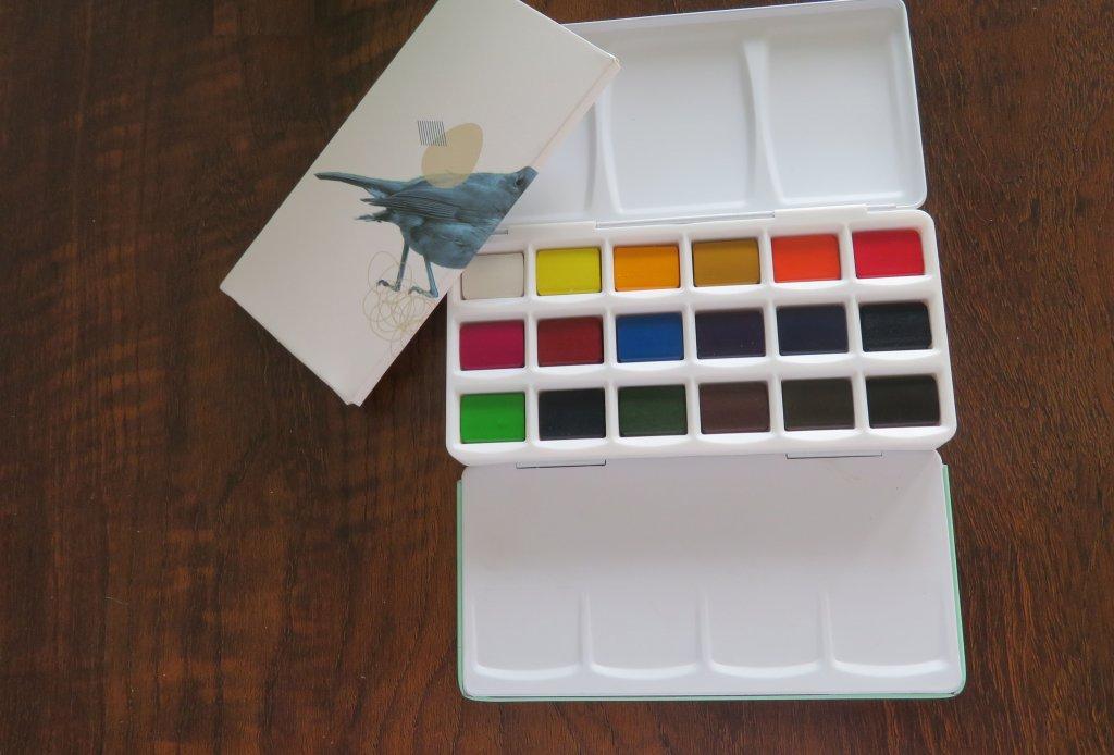 Miya Watercolor Set Solid Water Colors Palette