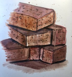 #doodlewashSeptember2019 #everydaythings Day 20: Bricks 4B598F2E-9E76-436D-8EFB-8EEB7A6B3A5C