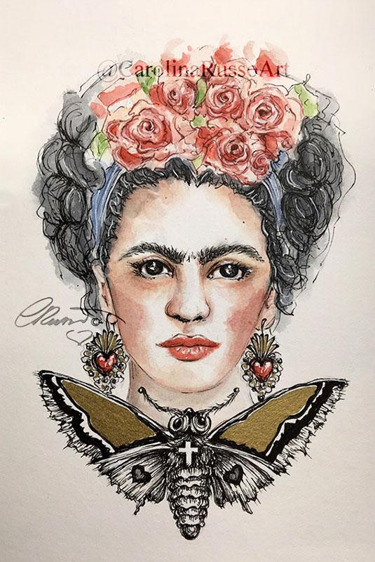 Frida Kahlo – Tribute Frida Kahlo Portrait_s