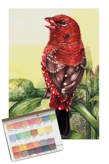 RedMunia Watercolor by Prasad Natarajan