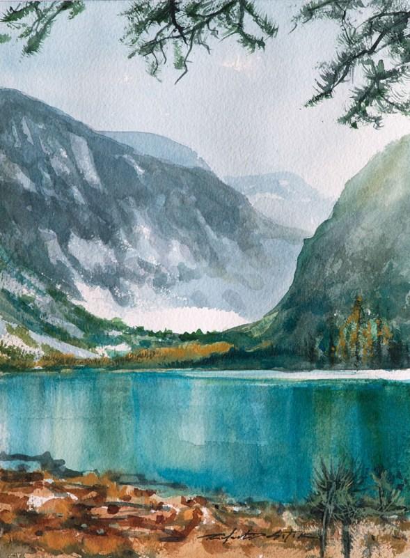 Watercolor Getaway DeSoto