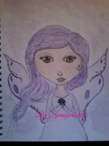 Since I joined a summit lately some of the images you see will be part of that. This sweet Fairy is