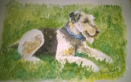 I had painted this cute pup for an online art challenge, couple of years ago. 01 buckley copy