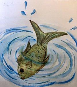 #doodlwashOctober2019 #doodlewashOctober2019AutumnFun Day 3: Fish 301A8D67-9396-45E5-8AEF-246AD55E10