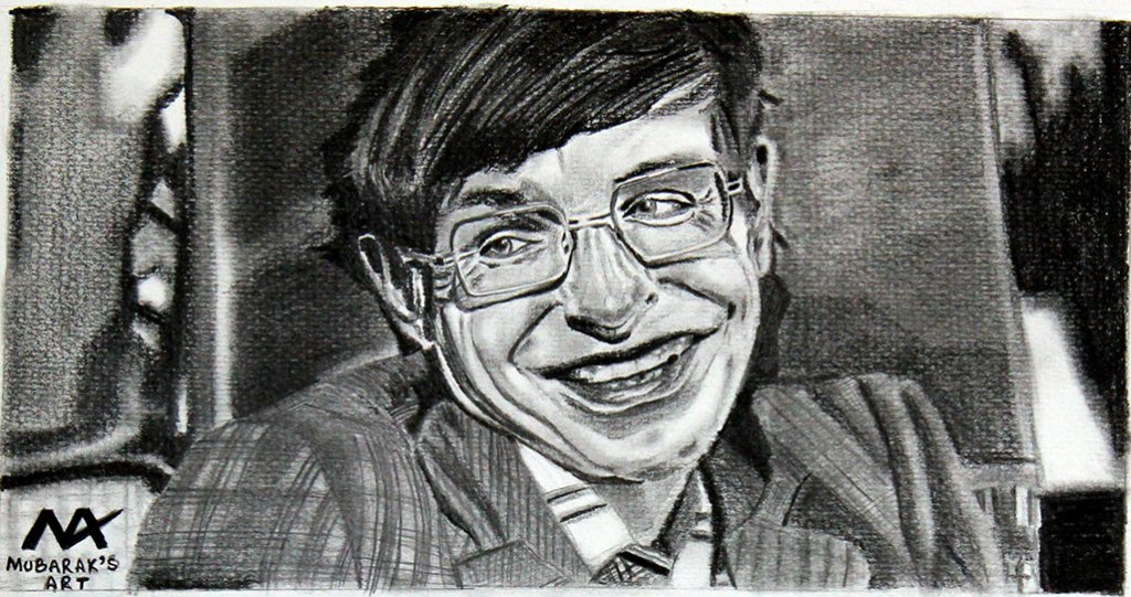 Stephen Hawking Drawing