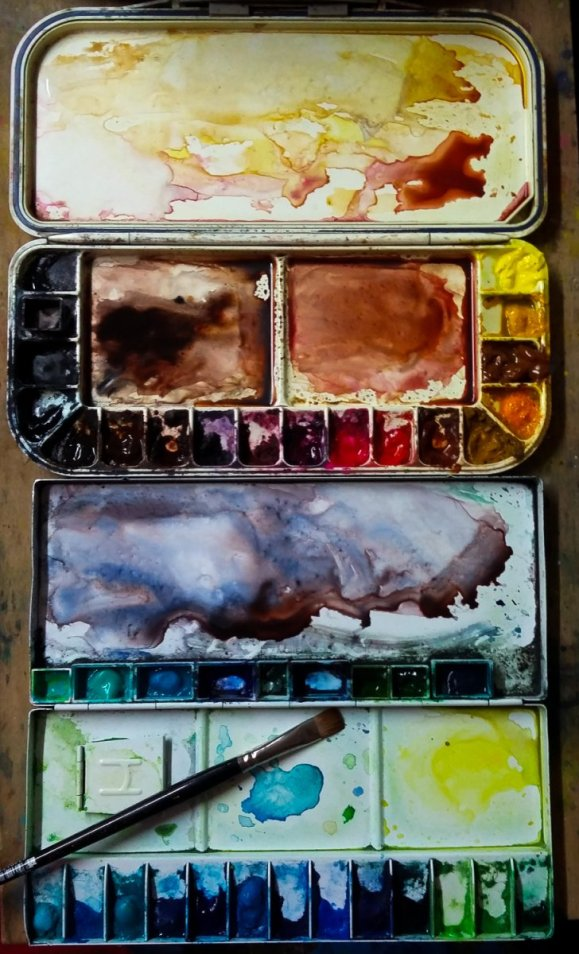 Watercolor Materials Watercolor of Teresa Whyman Tesartmania