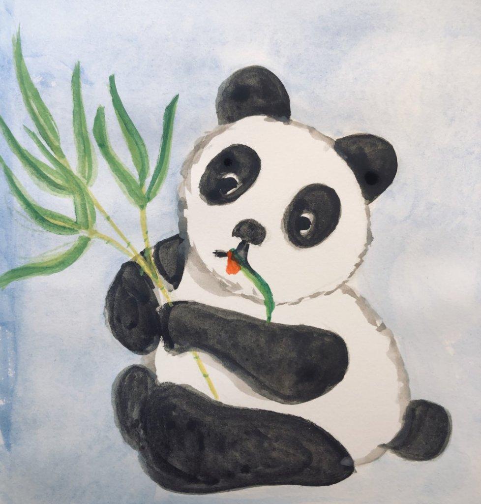 #doodlwashNovember2019 #doodlewashNovember2019FunThingstoDraw Day 16: Panda 66BA66E9-CAC3-47B6-A5D0-