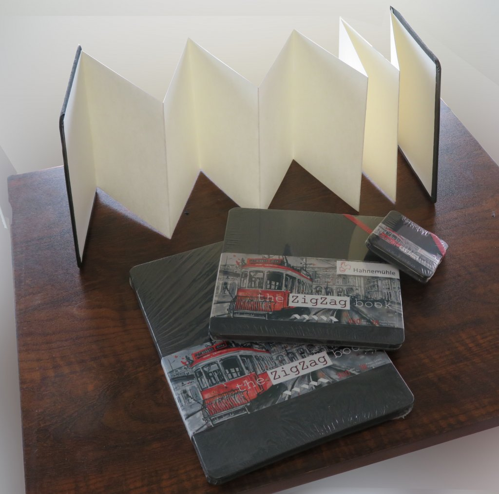 Hahnemühle ZigZag Accordion Book Product Photo