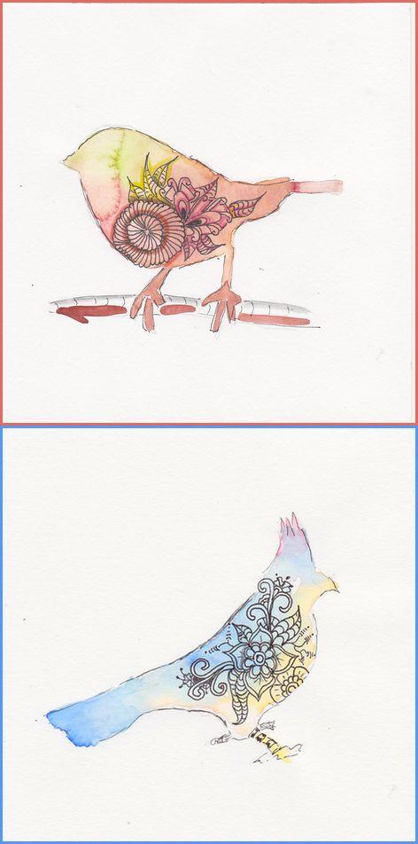 waterverfvogels