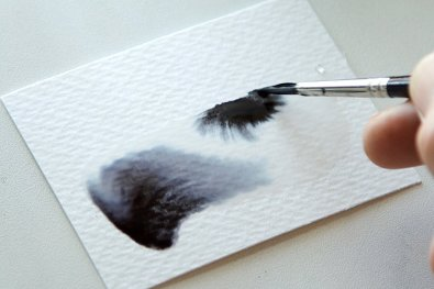 Fountain Pen Ink As Watercolor Wash Tutorial Image 5