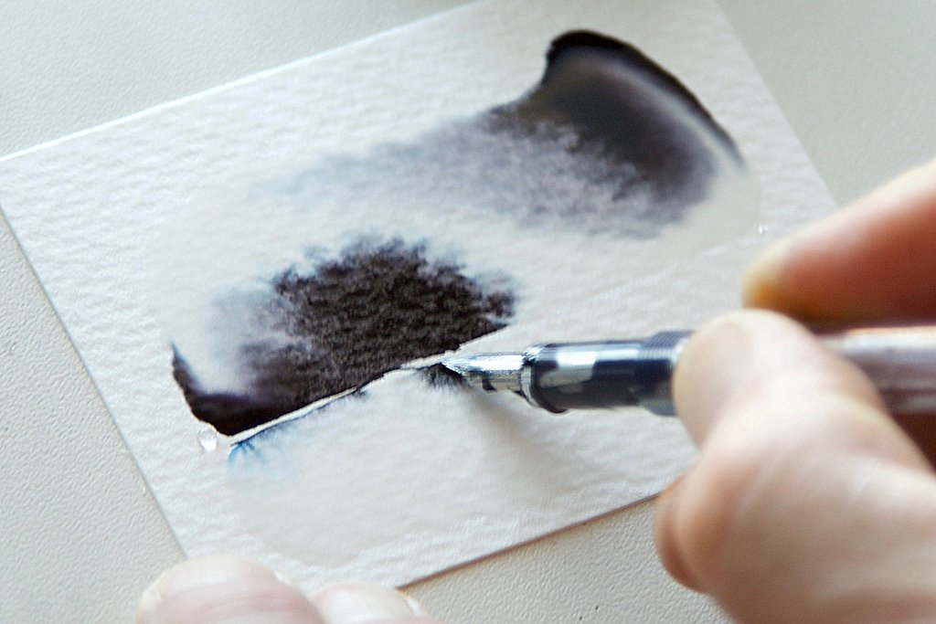 Fountain Pen Ink As Watercolor Wash Tutorial Image 7