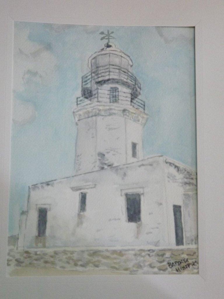 The Lighthouse , Mykonos Greece DSCF8282