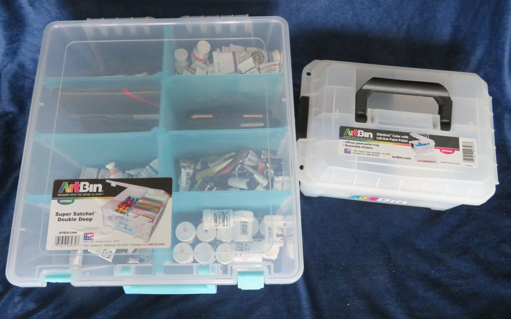 Additional options for art supply storage