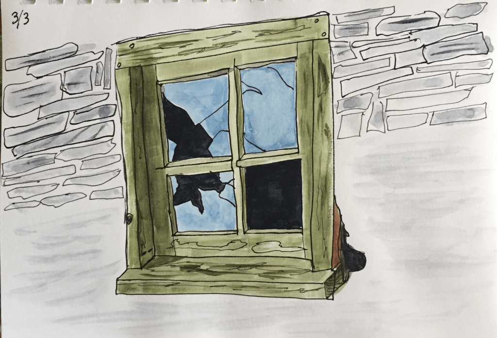 Sketched this last spring. Tyler_Barn-Window