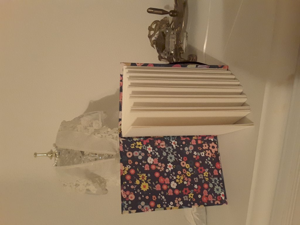 A must have….This is my beautiful handmade watercolor journal I ordered from our Doodlewash me