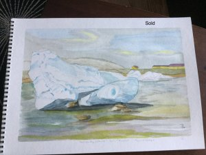 Last year in the time of the spring season, the Frobisher Bay was blocked by ice drifts leaving the