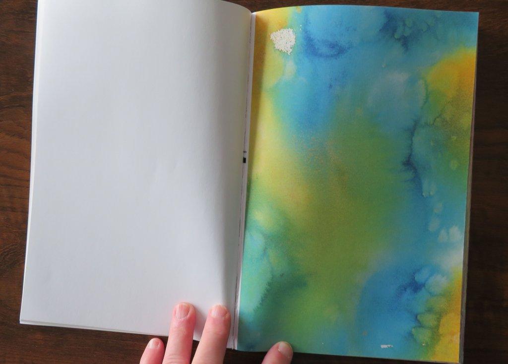 Watercolor page example interior