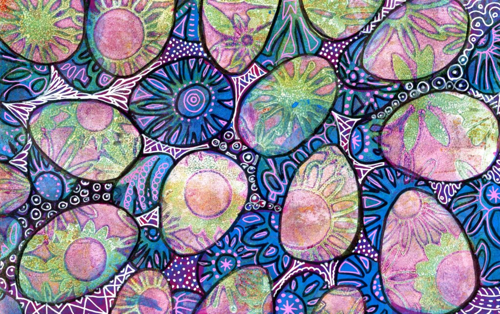Zentangle Patterns Example
