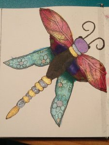 Doodle dragonfly IMG20200302220703