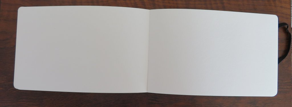 Moleskine Watercolor Book Interior View