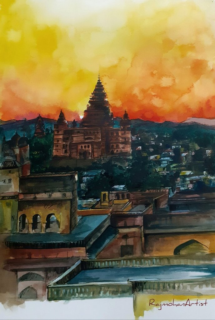 Watercolors #rajmohanartist #stayhome #staysafe 20200331_12524420200401_14285420200402_1500312020040