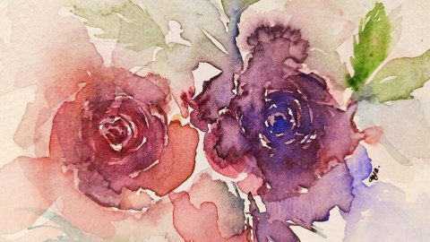 Natalia Budihardjo Gnadia Art Loose Floral Watercolor