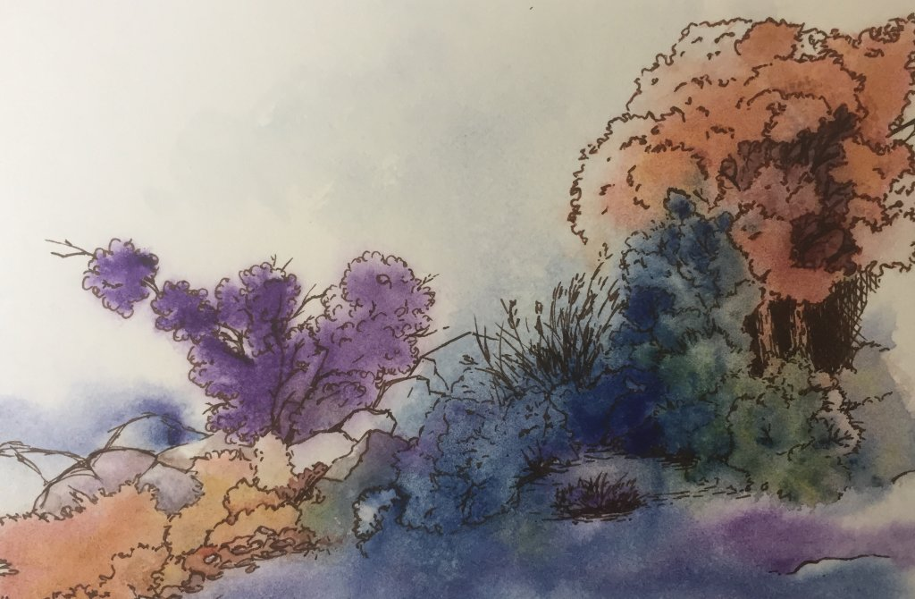 Accidental Landscape, inspired by Mind of Watercolor fullsizeoutput_61b