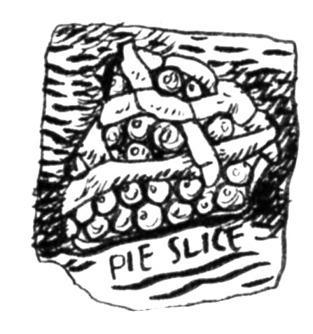 Doodlewash Prompt Doodle: Pie slice. Lesson 8 of my Melissa Gannon class.Did you know the longest be