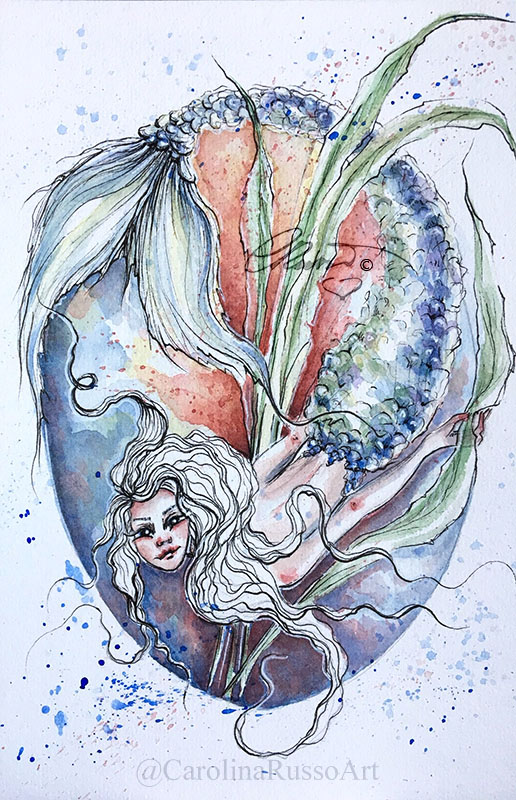 Exploring The Abyss – Mermaid Exploring The Abyss_s