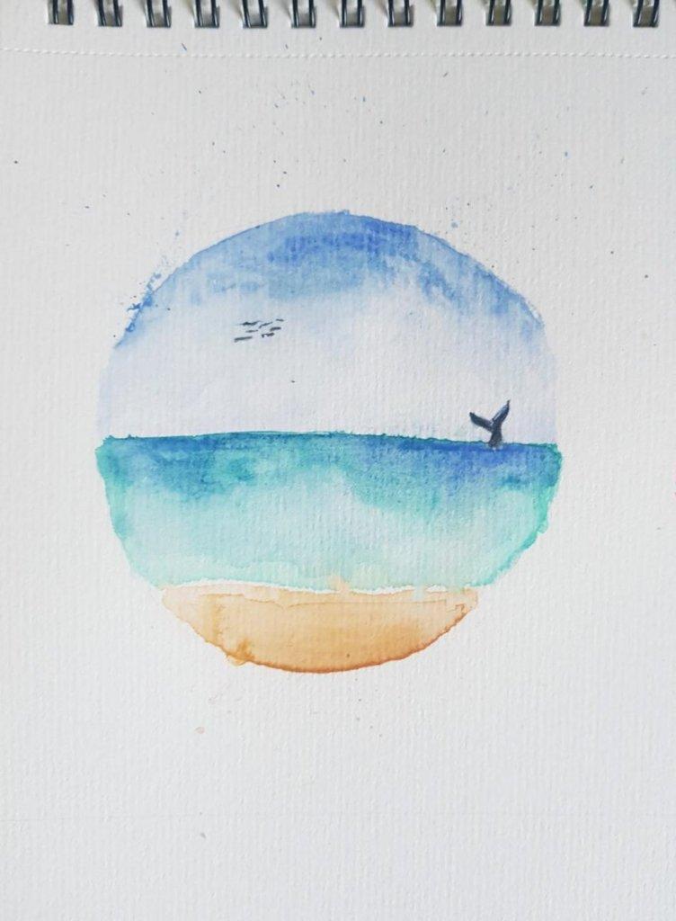 Doodlewash #3: Beachball aka beach in a ball WhatsApp Image 2020-06-03 at 09.39.41