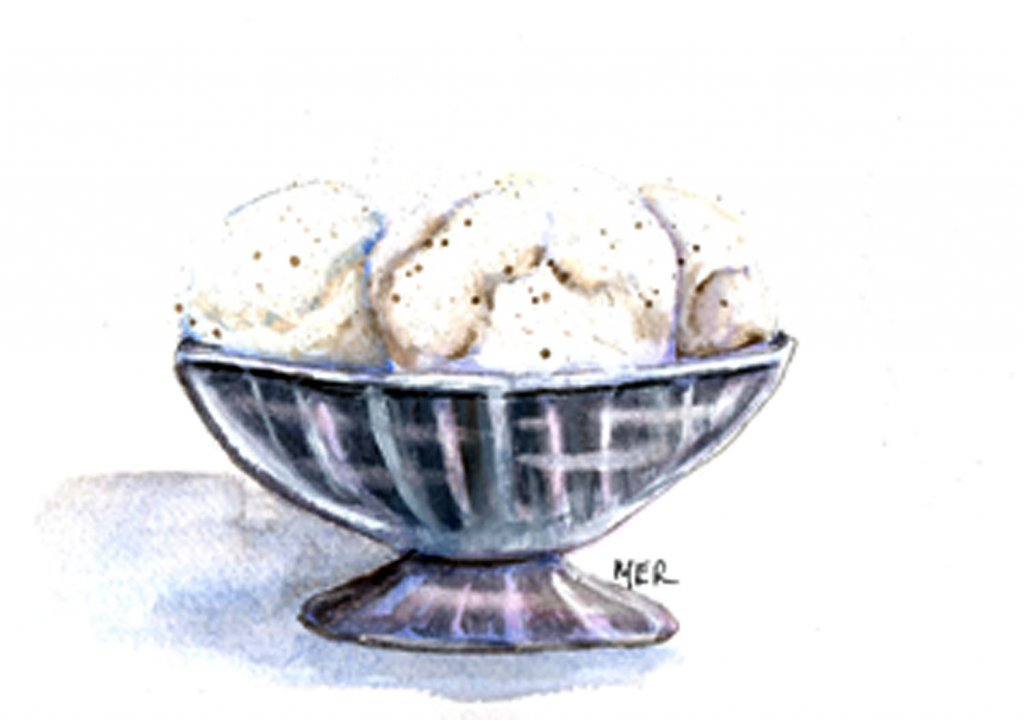 7.23.20 National Vanilla Ice Cream Day I could eat a bowl of vanilla ice cream alone or with a side